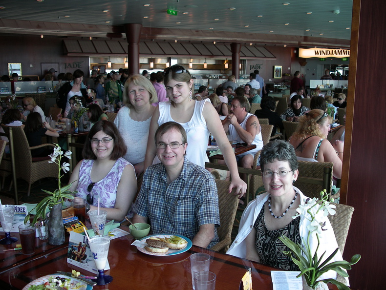 Here are a few of the people with whom we were priviledged to share this cruise.