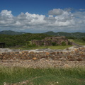 Antigua ruins of a fort