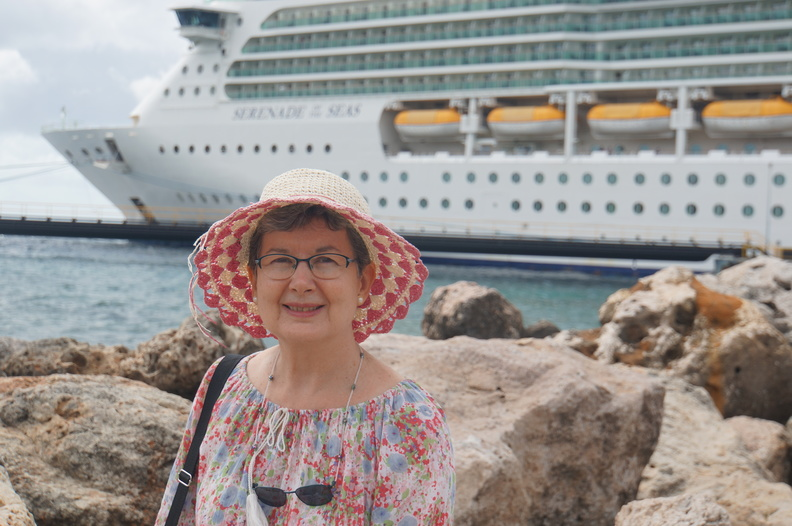 going ashore in Willemstad Curacao