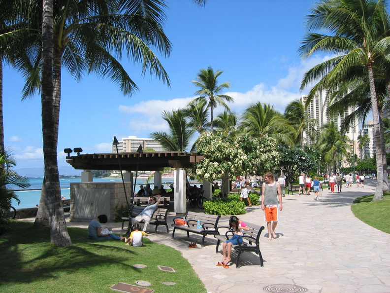 Sunday afternoon at Waikiki