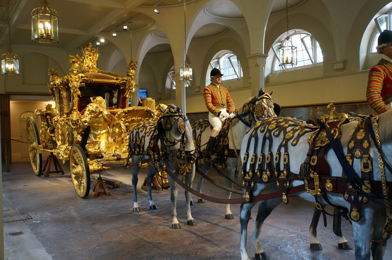 Royal mews golden coach