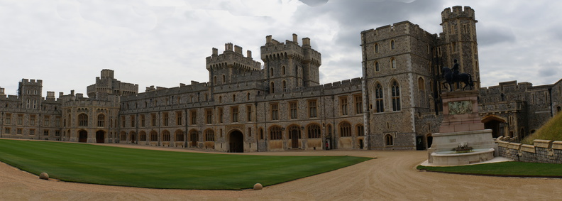Windsor castle pano