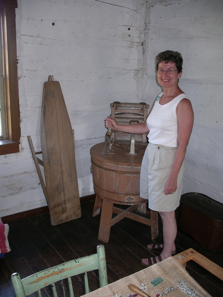 Washer woman Grey County Museum