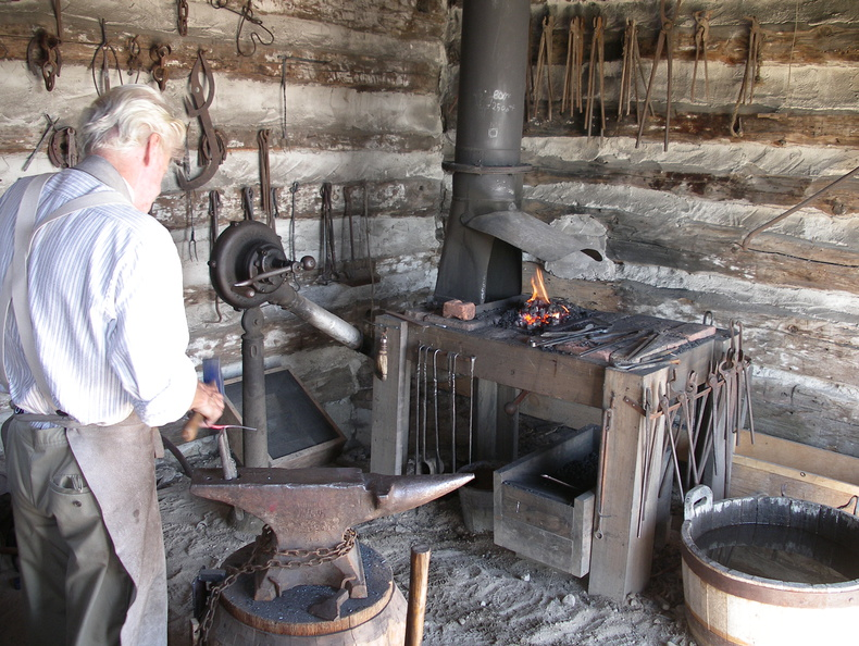 Blacksmith Grey County Museum
