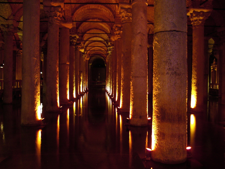 Ancient cistern, Istanbul