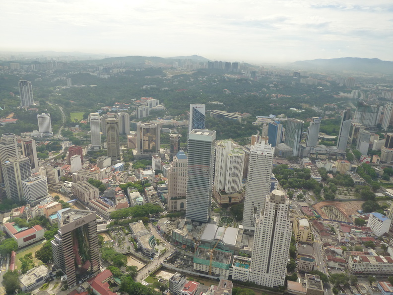 a few shots from the top of the KL tower