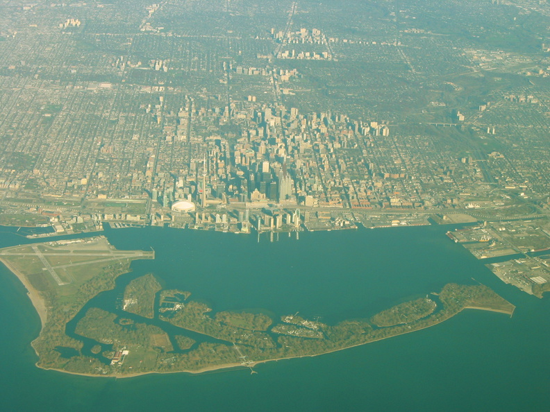 Toronto downtown arial