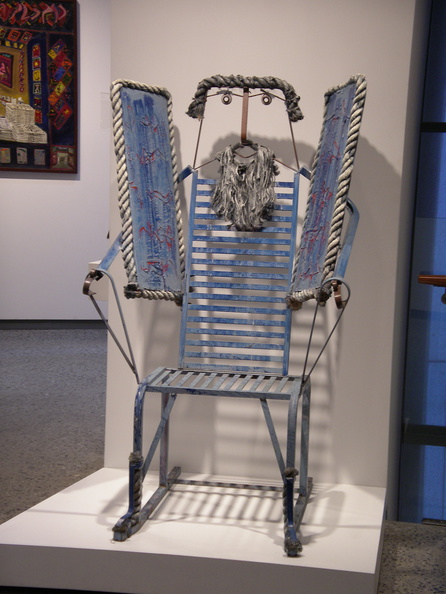 Moses Chair, Folk Art Museum.