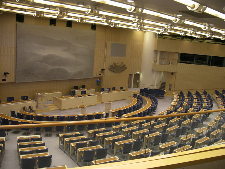 Parliament new chamber