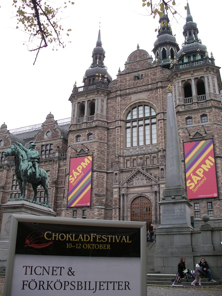 Chocolate festival at the museum