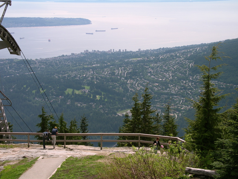 Vancouver from Grouse