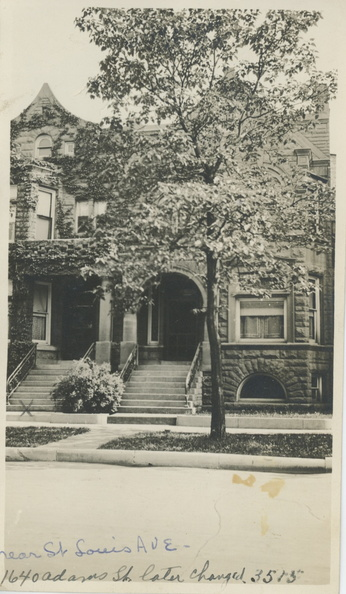 1900s House 1649 now3515 AdamsSt Chicago